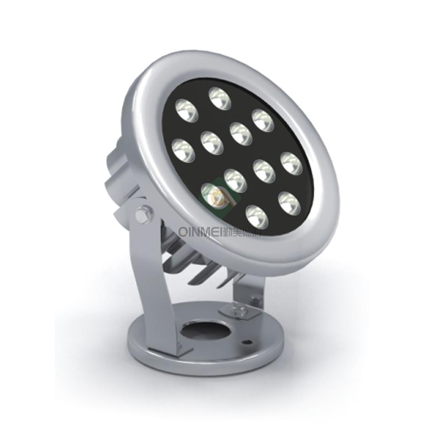12W圆形LED水下灯