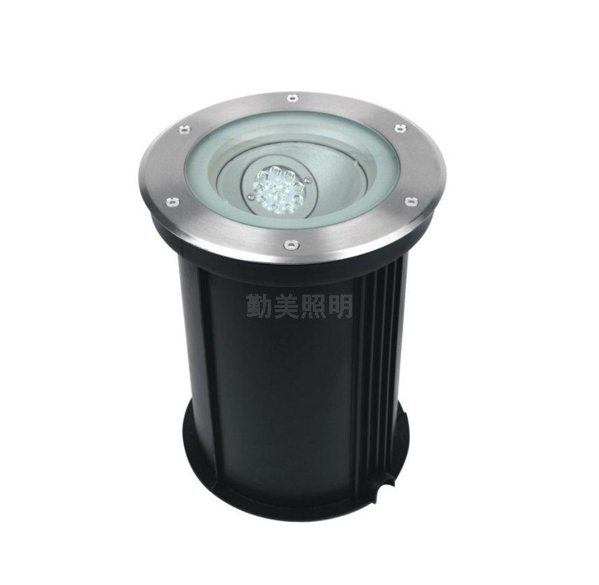 12W可调调度LED埋地灯