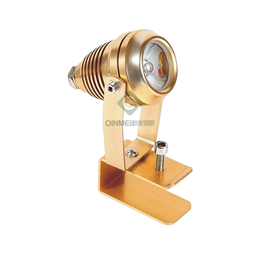 单颗3W聚光LED瓦楞灯