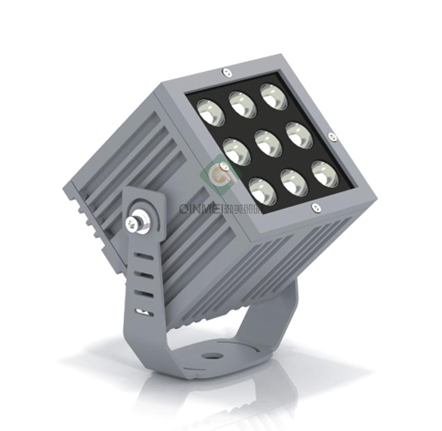 9W正方形LED外墙射灯